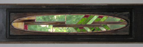 """Arbutus"" stained glass window"